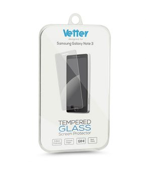 Folie Vetter Tempered Glass pentru Samsung Galaxy Note 3