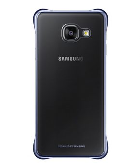 Husa Samsung Galaxy A3 2016 Clear Cover neagra