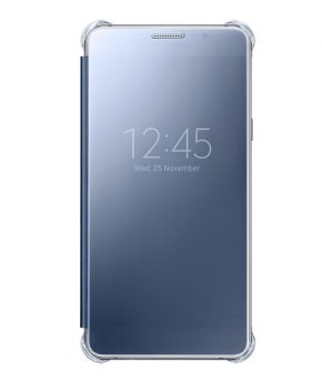 Husa Samsung Galaxy A5 (2016) Clear View Cover neagra