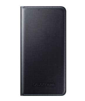 Husa Galaxy ALPHA Flip Cover neagra