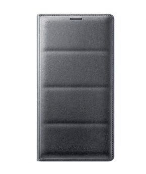 Husa Galaxy Note 4 Flip Wallet Cover neagra
