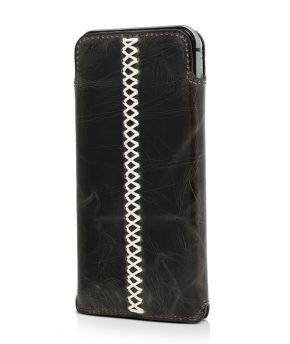 Husa iPhone 6 Sleeve Pouch Genuine Leather Vetter neagra