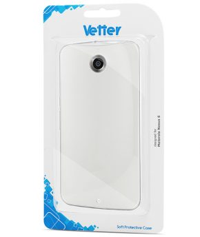Husa Motorola Nexus 6 Vetter Soft Pro Crystal Series transparenta Clear