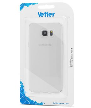 Husa Samsung Galaxy Note 5 Crystal Series Vetter transparenta Clear