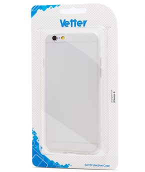 Husa iPhone 6 Vetter Soft Pro Crystal Hybrid transparenta Clear