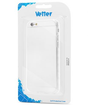 Husa iPhone 6 Vetter Soft Pro Crystal Series transparenta Clear
