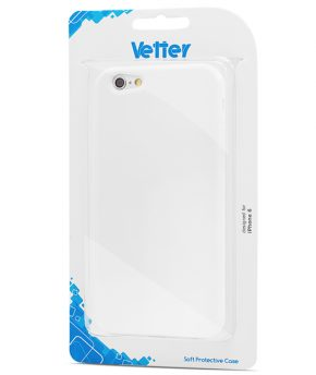 Husa iPhone 6 Vetter Soft Pro Matte Series alba