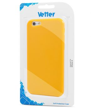 Husa iPhone 6 Vetter Soft Pro Matte Series galbena