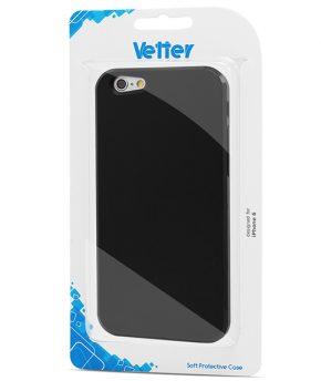 Husa iPhone 6 Vetter Soft Pro Matte Series neagra