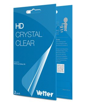 Samsung Galaxy S5 2 pack Vetter HD Crystal Clear