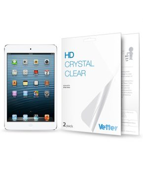 Folie Vetter HD Crystal Clear pentru iPad Mini | 2 pack