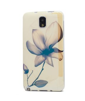 Husa Vetter Samsung Galaxy Note 3 model TPU Graphics Flower