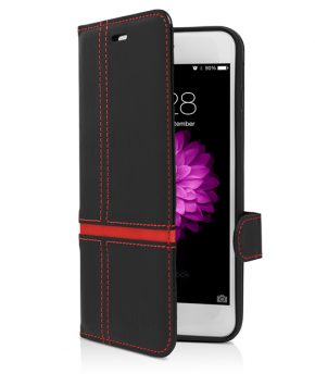 Husa Vetter iPhone 6s Plus, 6 Plus Flip Book Series rosie