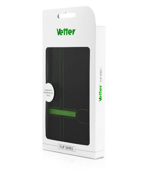 Husa Vetter iPhone 6s Plus, 6 Plus Flip Book Series verde