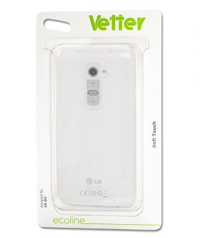 Husa Ecoline Soft Touch Clear LG G2