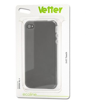 Husa Ecoline Soft Touch Clear iPhone 4s, 4