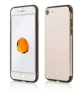 Husa iPhone 7 Clip-On Hybrid Slim Series Gold