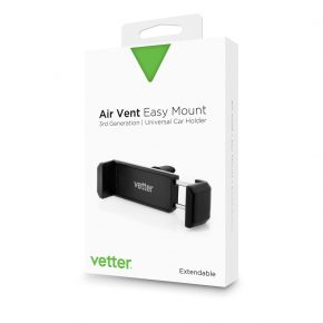 Universal Car Holder | Vetter | Air Vent Easy Mount 3rd Gen | Black